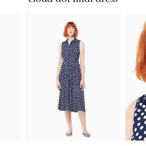 Cloud Dot Midi Dress